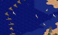 Pyrrhus of Epirus Naval Blockade