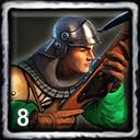 French Home City 2 (8 Crossbowmen)