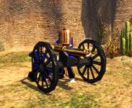 Gatling Gun bombard unique model