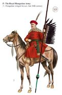16thc Hungarian-Winged-Hussar