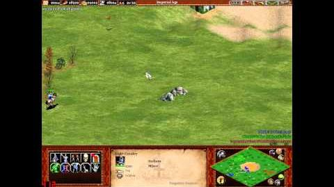 Age of Empires II- The Forgotten Empires - -80- Random Map - Golden Pit