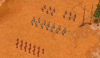 Hoplites vs Axemen
