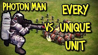 PHOTON MAN vs EVERY UNIQUE UNIT AoE II Definitive Edition