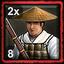Japanese Home City 2 (8 Ashigaru Musketeers)