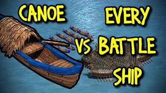 CANOE vs EVERY SHIP AoE II Definitive Edition