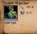 Xolotl Stats
