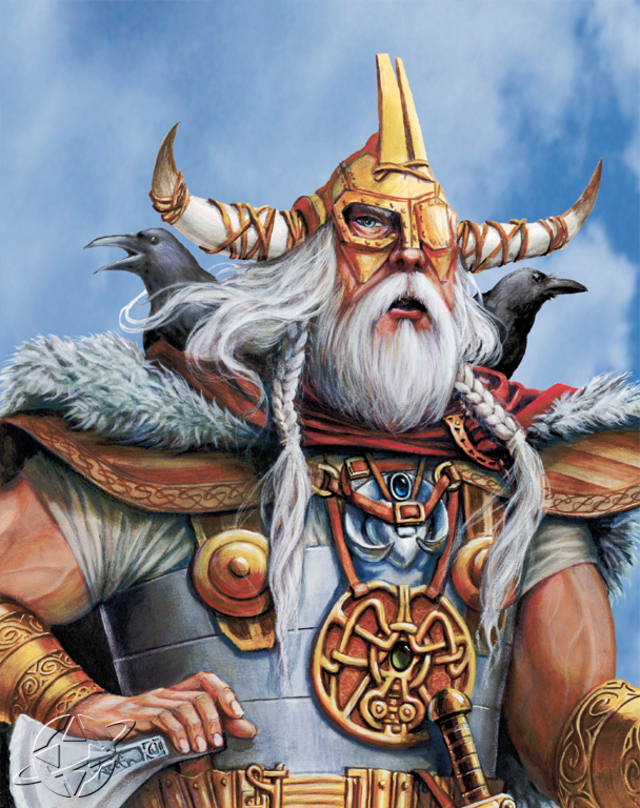Odin Age Of Empires Series Wiki Fandom Powered By Wikia