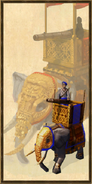 Siege Elephant history portrait