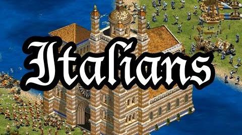 Italians Overview AoE2