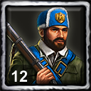 French Home City 2 (12 Skirmishers)