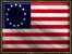 United States flag revolt