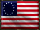 United States flag revolt