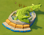 Crocodiletopiary