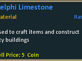 Delphi Limestone