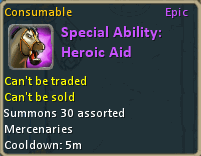 Special Ability Heroic Aid