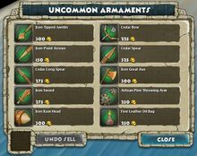Uncommon Armaments