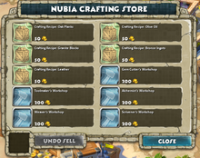 Nubia Crafting Store