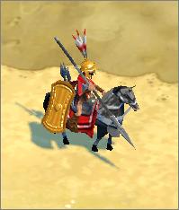 Sarissophoroi equipped with Argos C. Shield