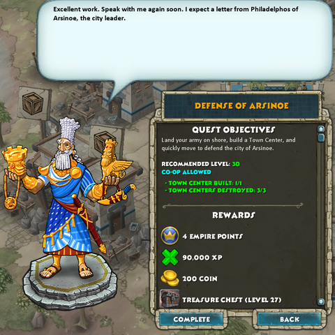 The Babylonian quest complleted at level 30