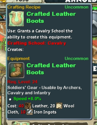 CR Cav 24 Crafted Leather Boots