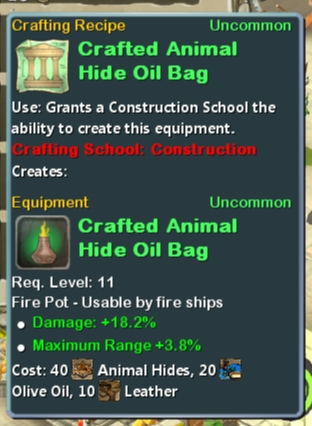 CR Con 11 Crafted Animal Hide Oil Bag