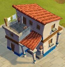 Medium Greek Residence