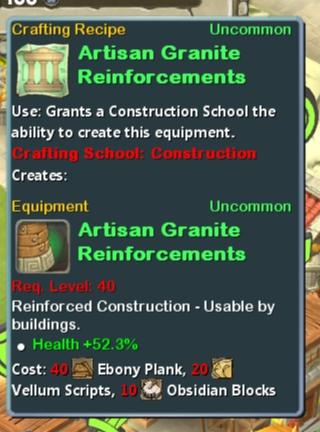 CR Con 40 Artisan Granite Reinforcements
