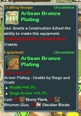 CR Con 38 Artisan Bronze Plating