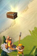 Chief Bandit Guarding Treasure