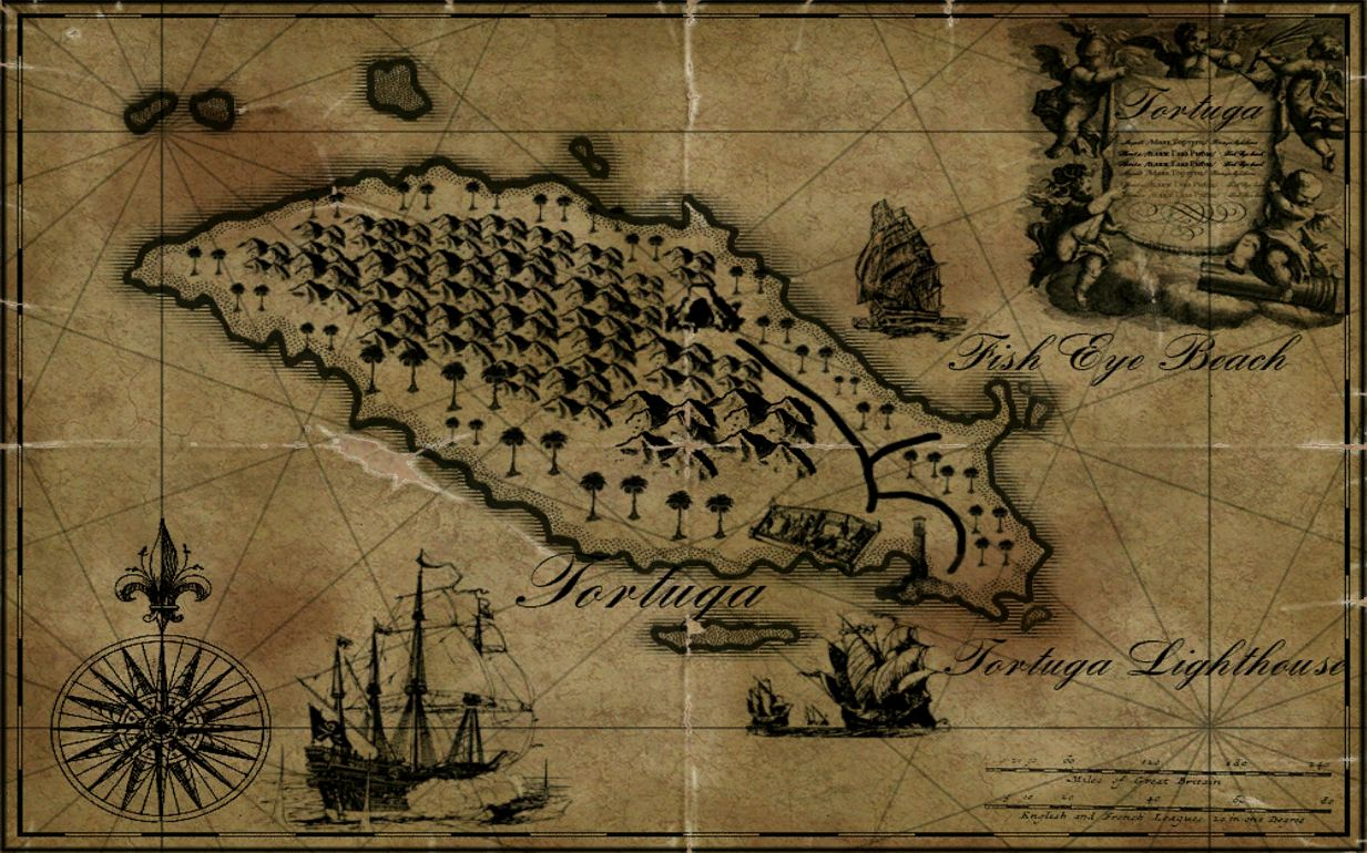Puerto Rico Map World%0A Tortuga