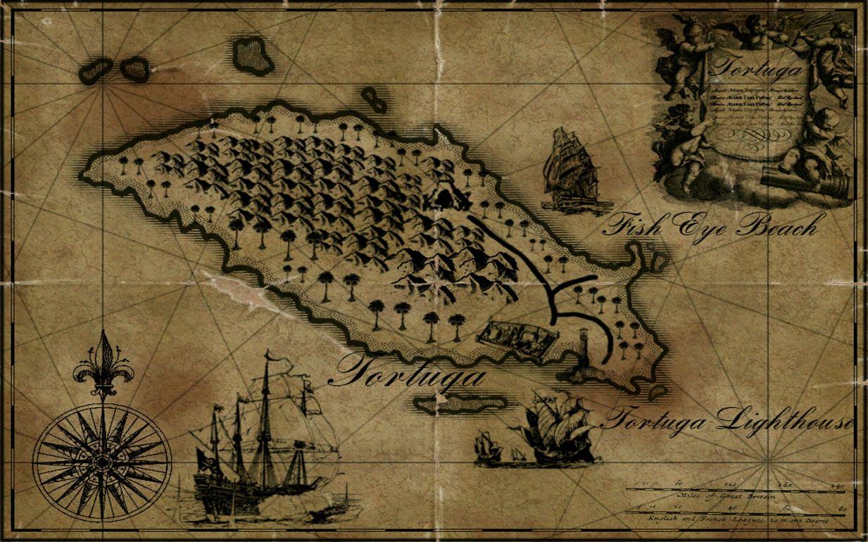 Tortuga Maps Age of Pirates Wiki