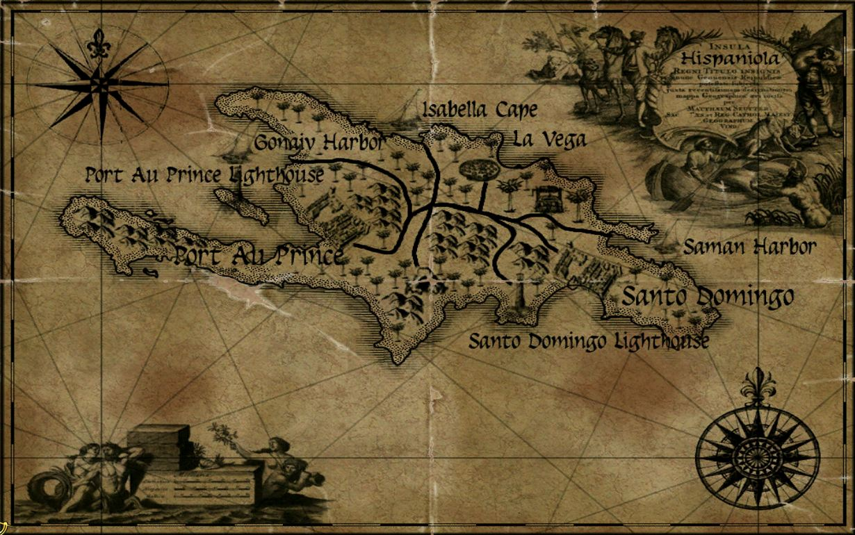 Hispaniola Maps Age of Pirates Wiki