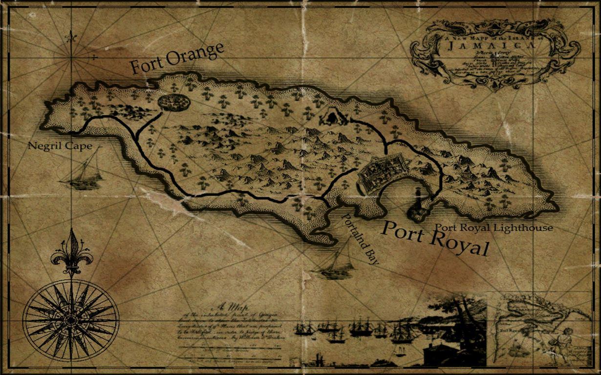 Jamaica Maps Age of Pirates Wiki