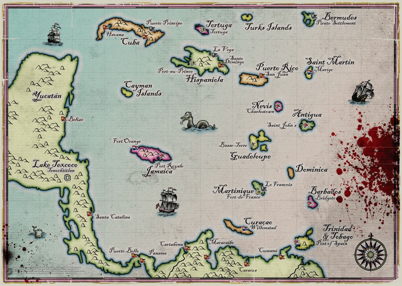 Pirate World Map.Maps Age Of Pirates Wiki Fandom Powered By Wikia