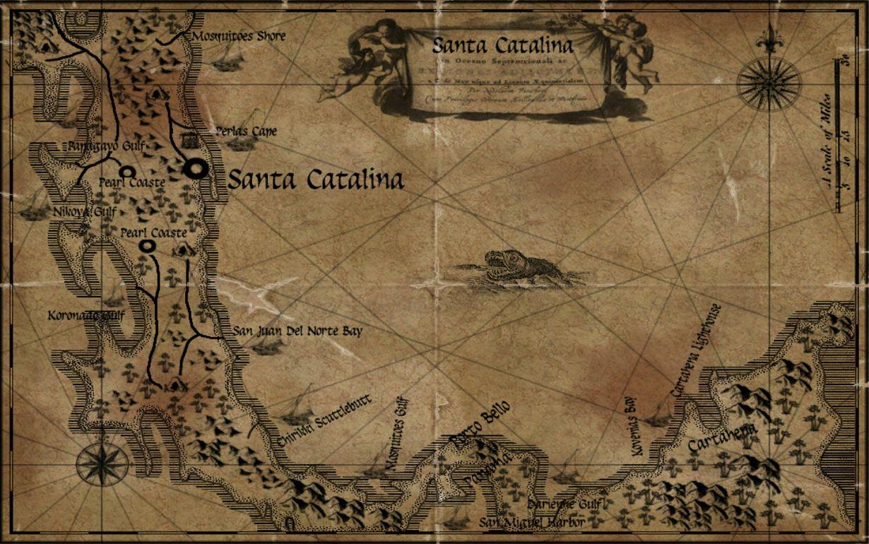 Maps Age of Pirates Wiki