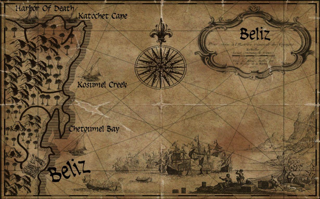 Belize Maps Age of Pirates Wiki