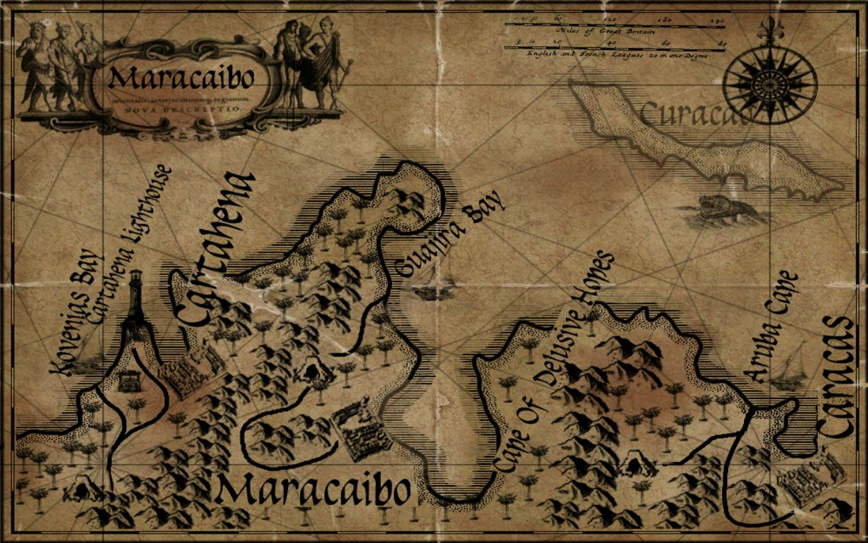 Spanish Main Center Maps Age of