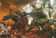 Duelo Vandus Manomartillo vs Korghos Khul