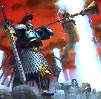 Caballero Heraldo de los Reivindicadores Celestiales Sigmaroteca