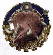 Logo lagarto trueno