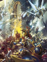 Batalla Puertas susurrantes Batalla 1 Edición Ilustración