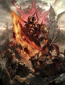 Guerra Ochopartes Archaon