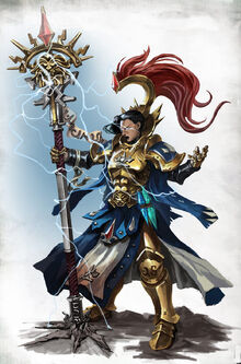 Knight incantor hammers sigmar ilustracion 1