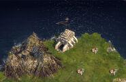 Гробница на карте