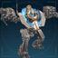 Совершенный, тяжёлый солдат-иконка
