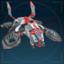 Боец Авангарда, летающая батарея-иконка