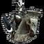 Человек-рыцарь-иконка