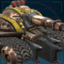 Двар, танк-экскаватор-иконка