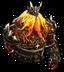 Огненный великан-иконка