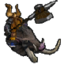 Гном-наездник на кабане-иконка